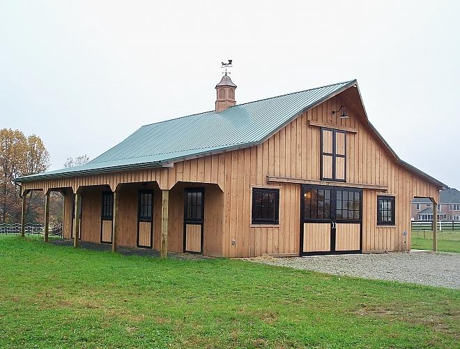 Small Custom Barn