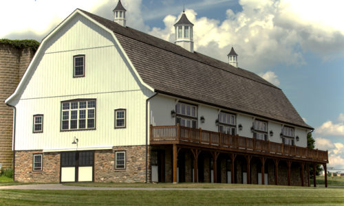 Bank/Timber Frame Barns