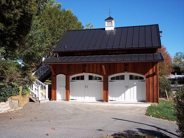 Building - Custom Garage with Cupola