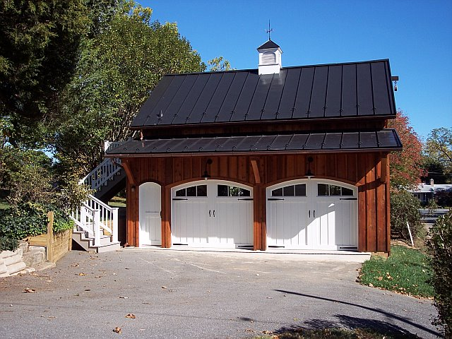 Custom Garage with Cupola