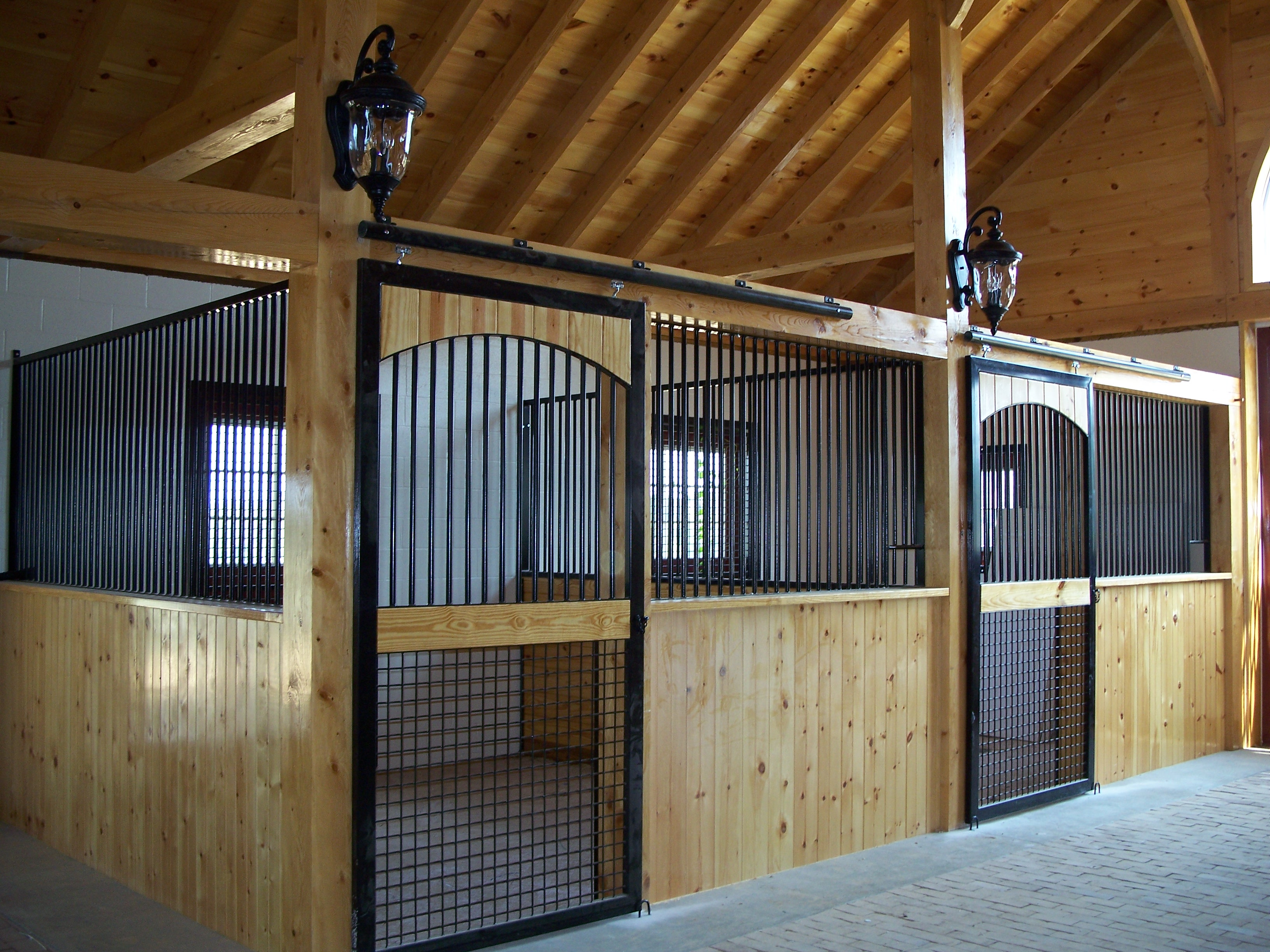Precise Buildings Llc Post And Beam Horse Barn