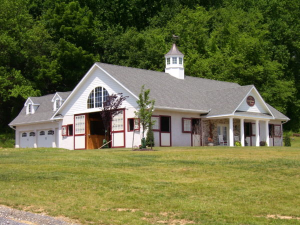 Building - Post and Beam Horse Barn