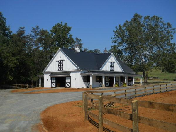 Building - Custom Horse Barn