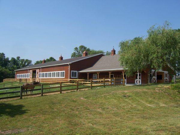 Building - Indoor Equestrian Arena