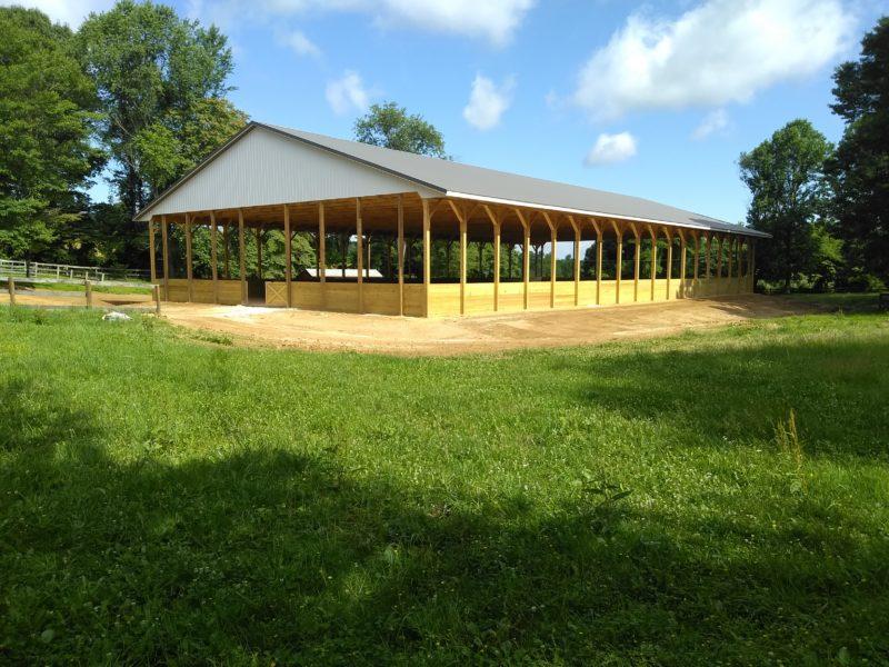 Outdoor Open Riding Arena