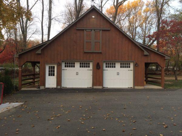 Building - Custom Garage with Plenty of Storage