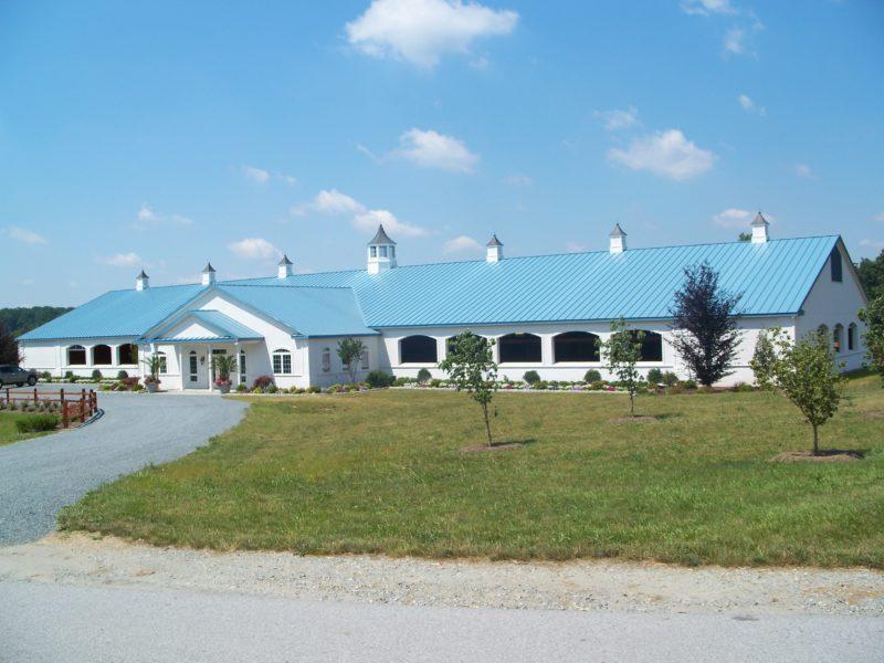 Custom Equestrian Training Center