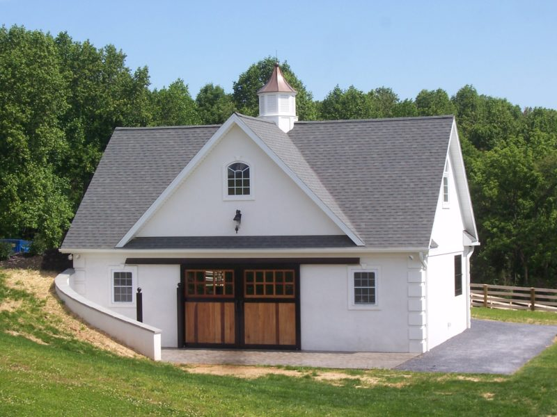 Custom Bank Barn