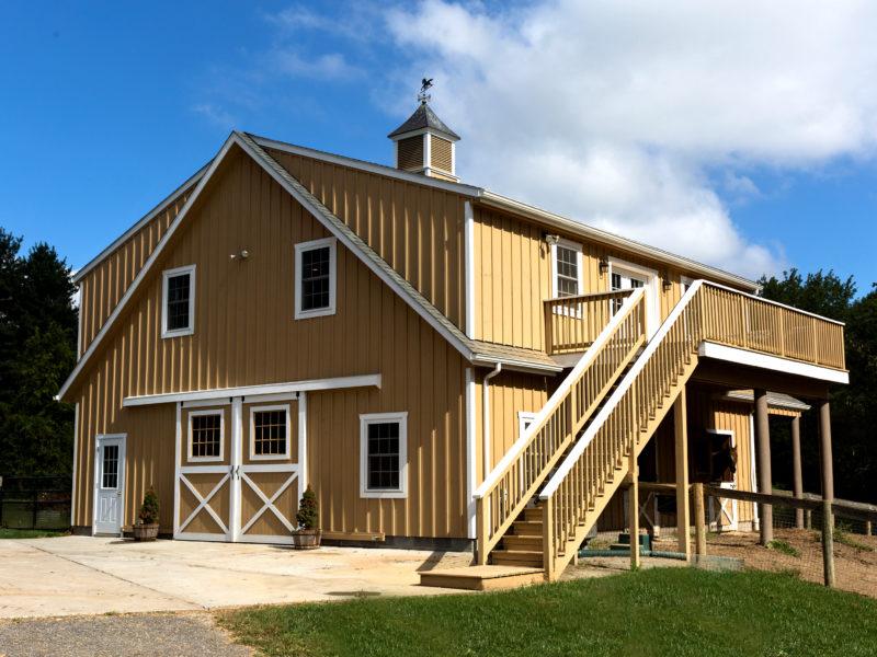 Board and Batton Horse Barn