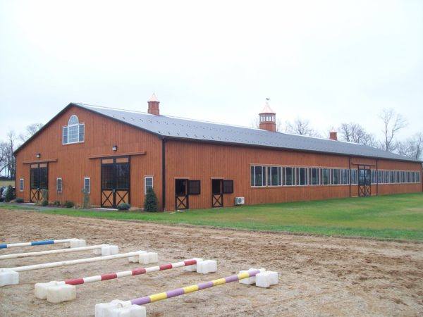 Building - Indoor Riding Arena with Stalls