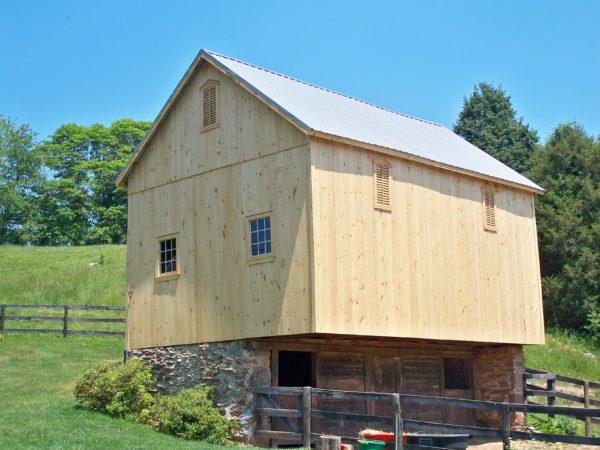 Building - Bank Barn Restoration