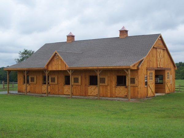 Building - Cedar Riding Arena and Barn