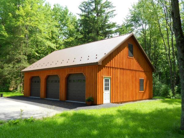 Building - Three Car Garage